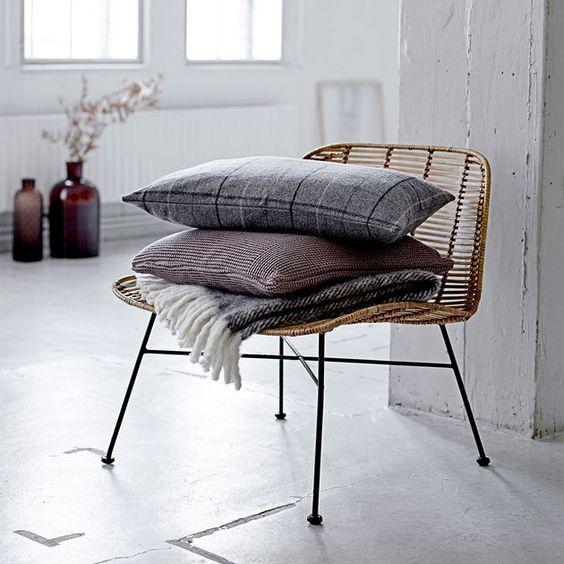 Rotin fauteuil Bloomingville