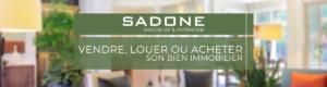 agence immobilière SADONE