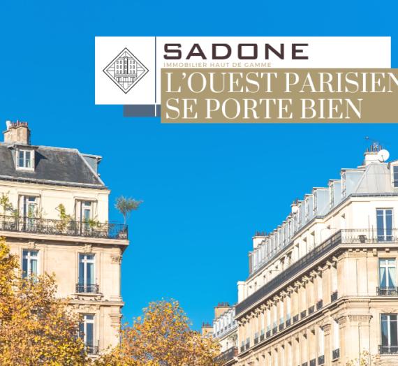 Immobilier haut de gamme en temps de crise sanitaire : l'Ouest parisien se porte bien