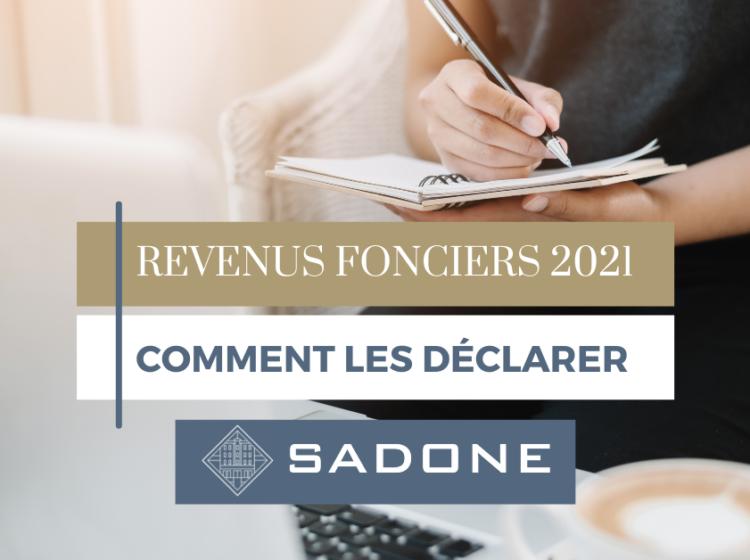 Comment déclarer ses revenus fonciers aux impôts en 2021 ?