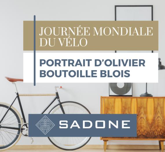 Journée mondiale du vélo – Portrait d'Olivier Boutoille Blois, gestionnaire locatif à l'agence Sadone